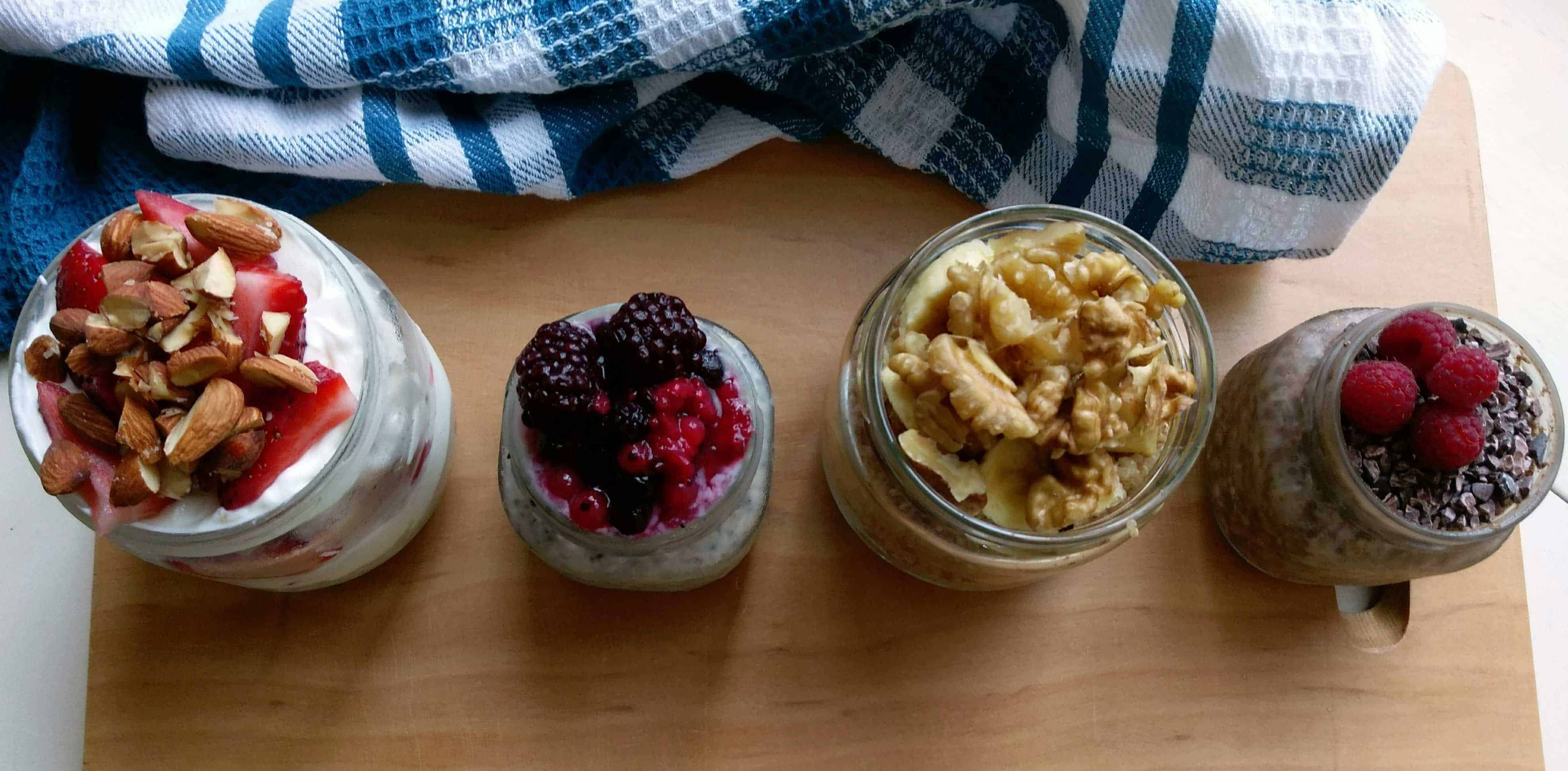 On the Go Oatmeal and Grain Bowls