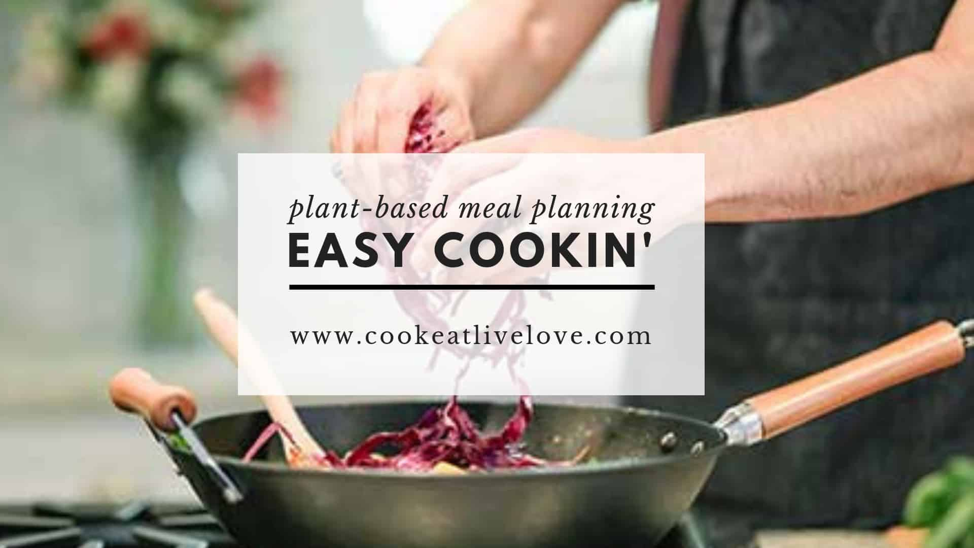 Eat nutritious and delicious meals and save time with Easy Cookin'