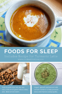 Pinterest Pin Foods for Sleep