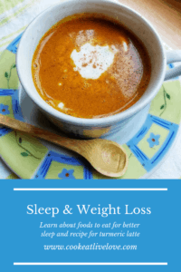Pinterest Pin Sleep and Weight Loss