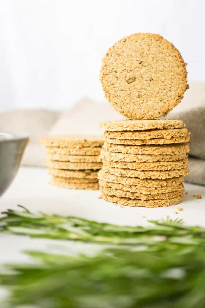 Delicious rosemary oatcakes