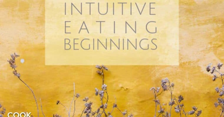 Intuitive eating beginnings