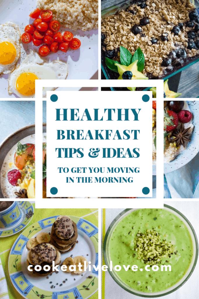 Pin for pinterest Healthy Breakfast Tips and Ideas