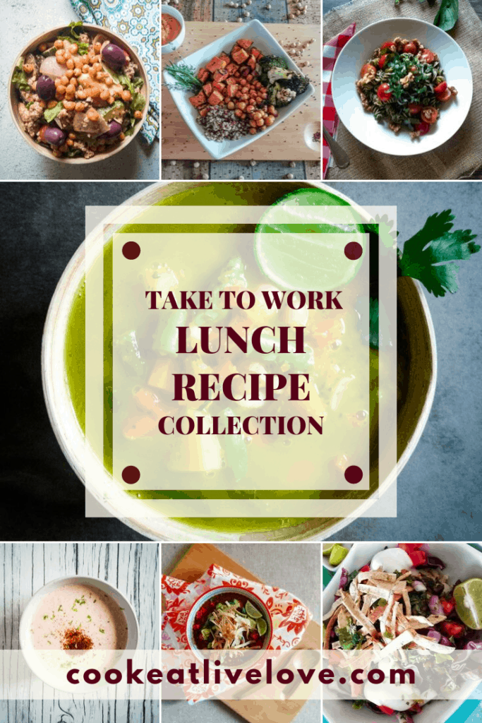 take to work lunch collection pin for pinterest