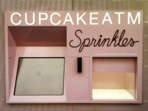 Cupcake ATM in NYC