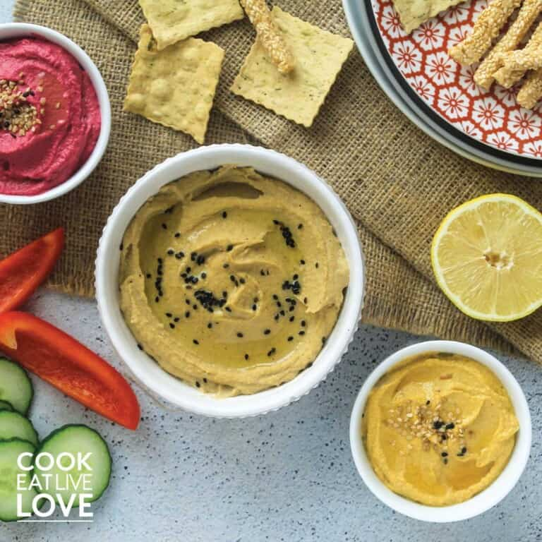 Balsamic beet puree to mix in to make one flavor of easy vegetable hummus