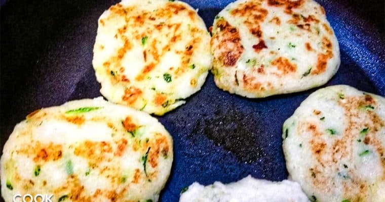 Cooking up Colombian Arepas with Zucchini