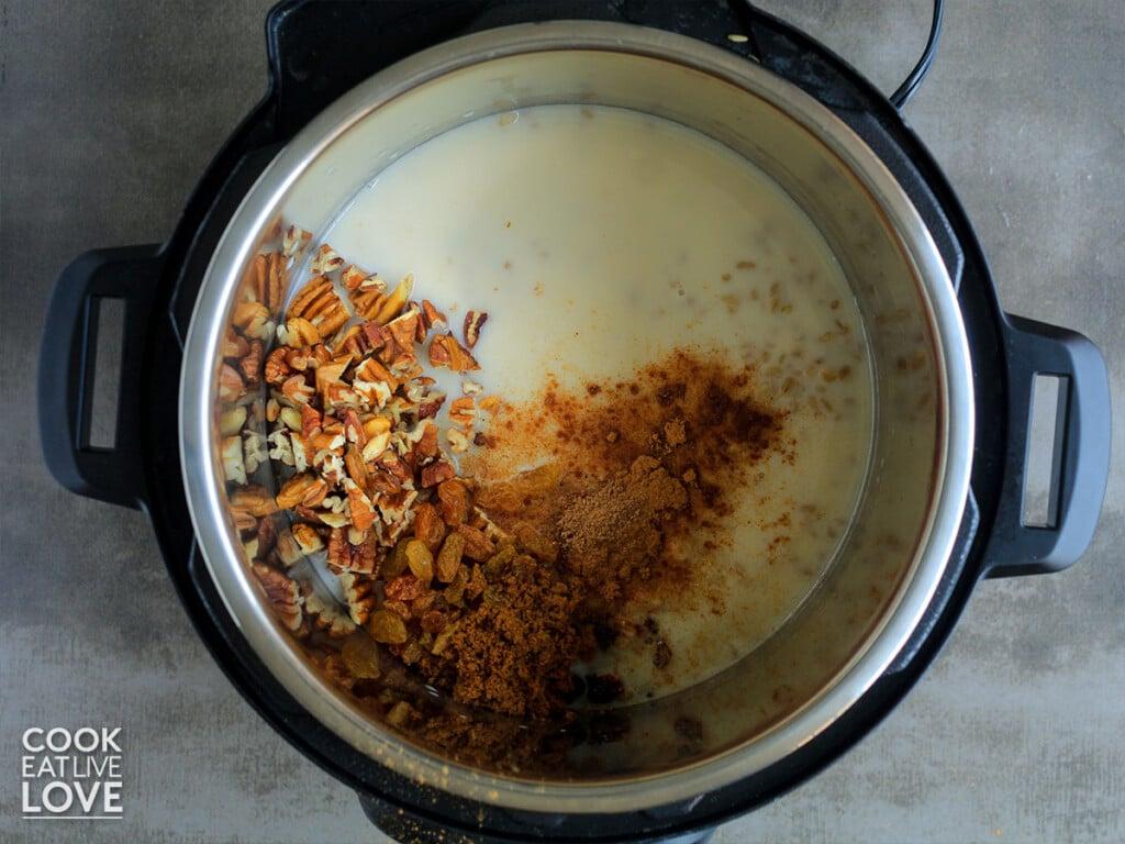 barley porridge in the Instant Pot